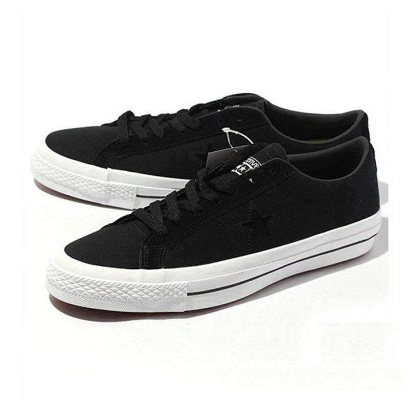 Converse CONS One Star Pro Ox Black Canvas 153710C