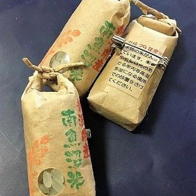米袋ブローチ(白米)