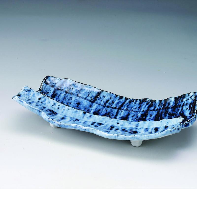 ブルー 長皿 98-492-02