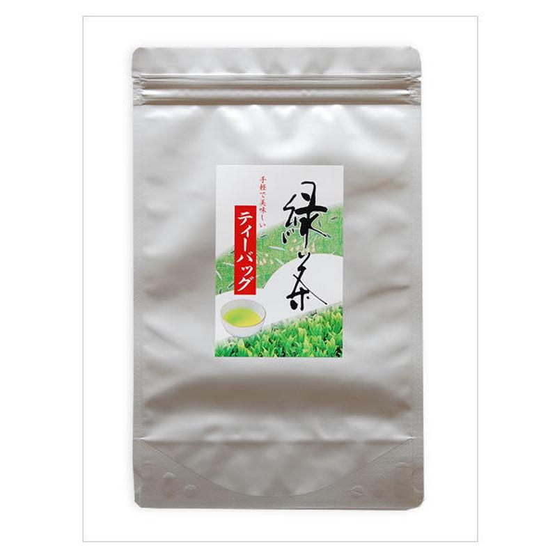 深蒸し茶緑茶ティーバッグ 100包入