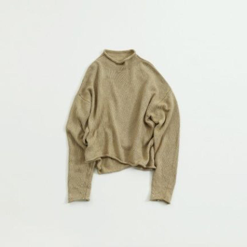【  TODAYFUL   トゥデイフル 】 Roundhem Linen Knit    11910502