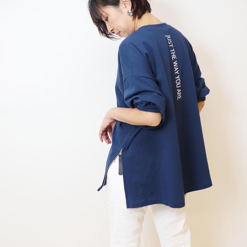 【  Aima+saie | アイマサイエ 】 オリジナルサイドジップカットソー |  495926 | Abientot別注