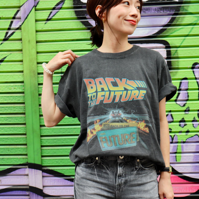 "【 GOOD ROCK SPEED | グッドロックスピード 】 オリジナルtee | ""BACK TO THE FUTURE"" 