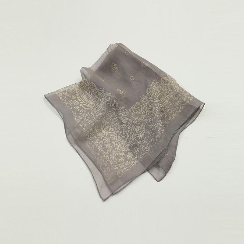 【  TODAYFUL | トゥデイフル 】 Silk Sheer Scarf | 11911075
