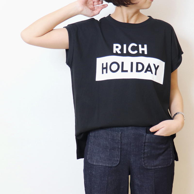【 MARGAUX | マルゴー 】 ロゴtee | RICH HOLIDAY |  MG-1501