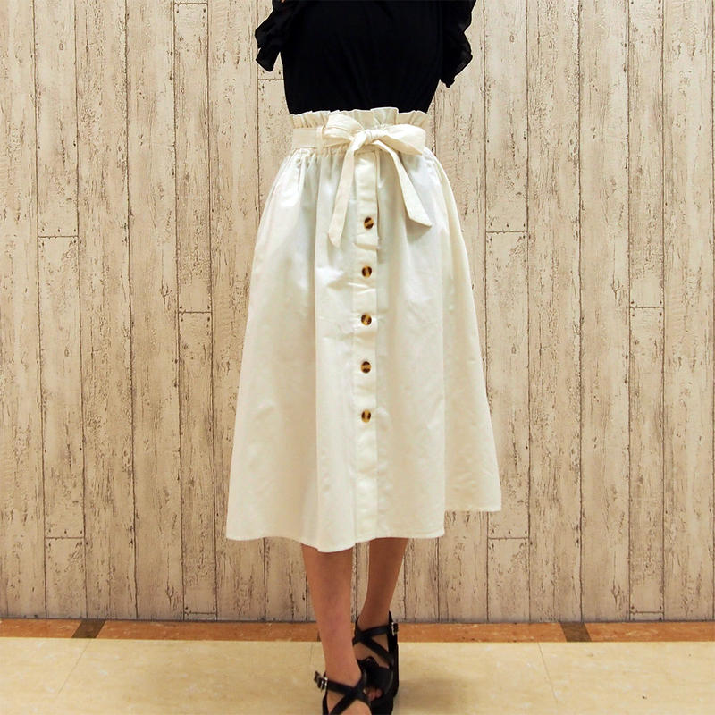 コットンロングスカート