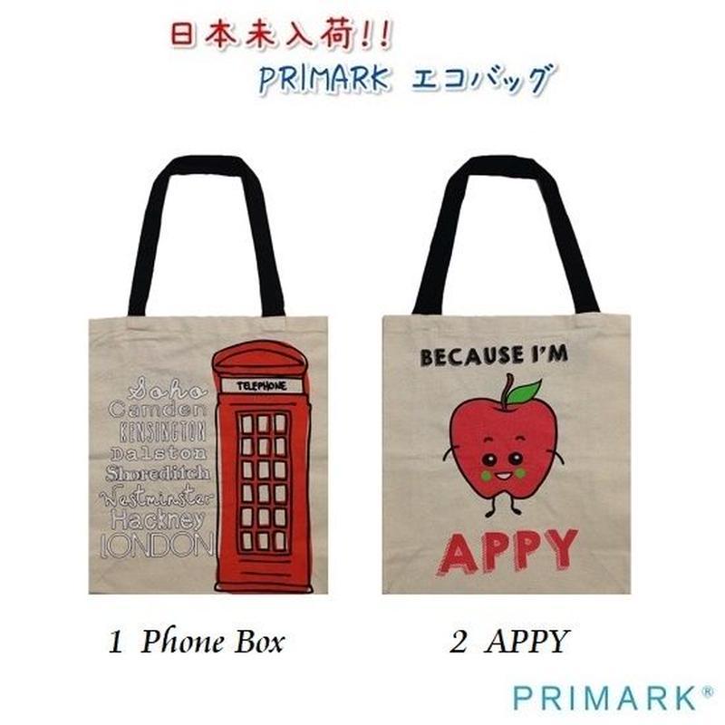 NEW☆日本未入荷 【PRIMARK プライマーク】エコバッグ  2柄
