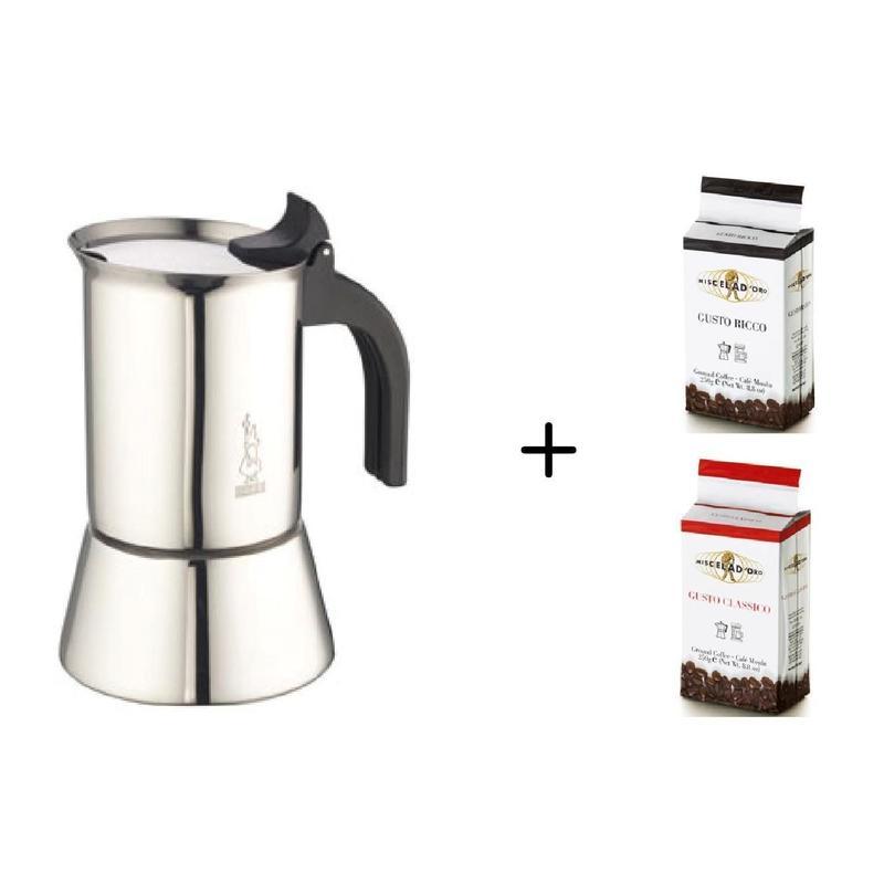 Venus4CUP用+GUSTO RICCO & CLASSICO マキネッタ+コーヒー