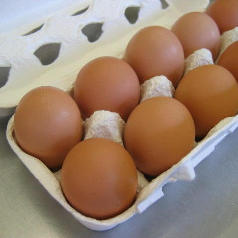 平飼い自然卵 30個