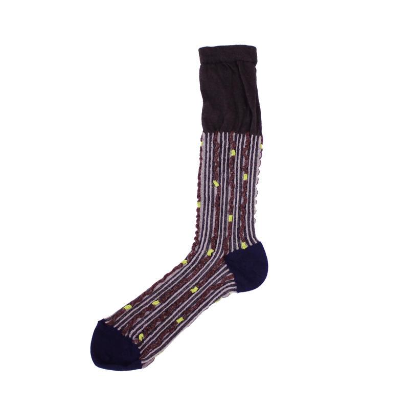 twinkle tree socks/ブラック