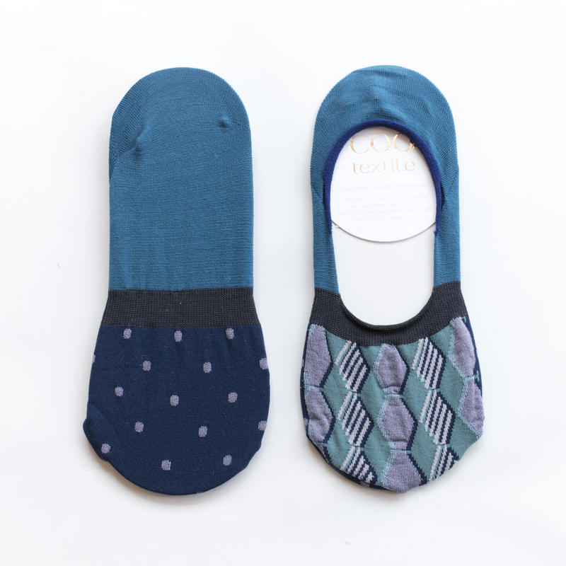 Honeycomb foot cover/グレー