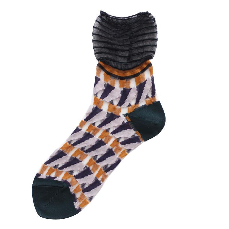 Butterfly socks/ブラック