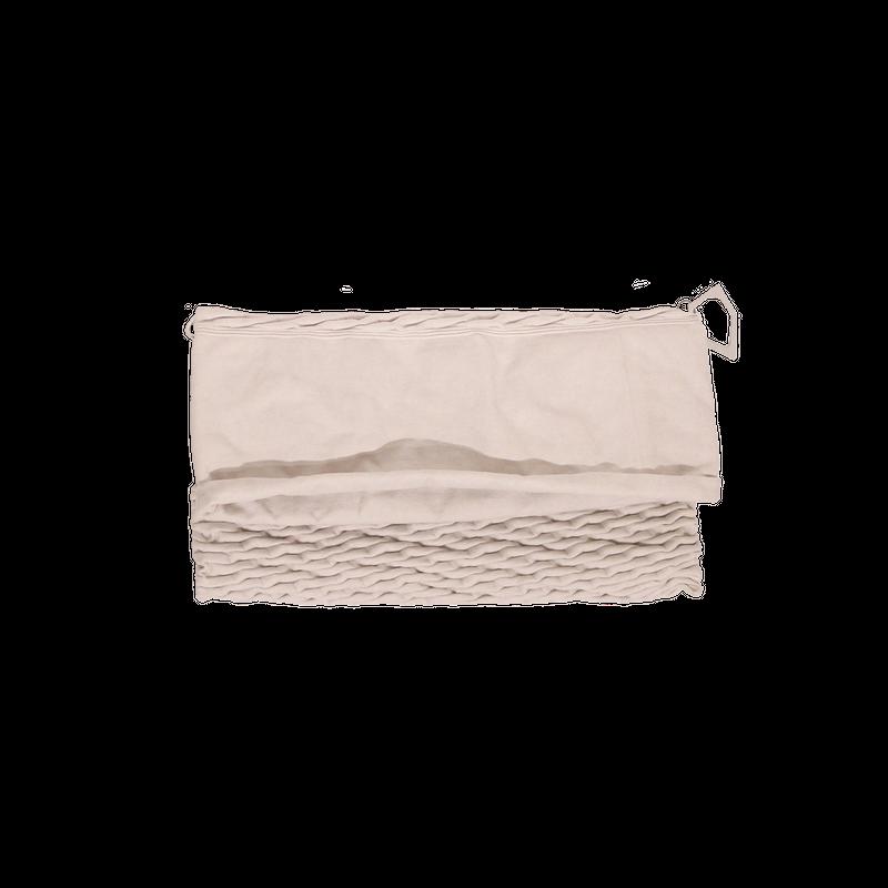 Konbuチェーン付クラッチバッグ/ オフホワイト