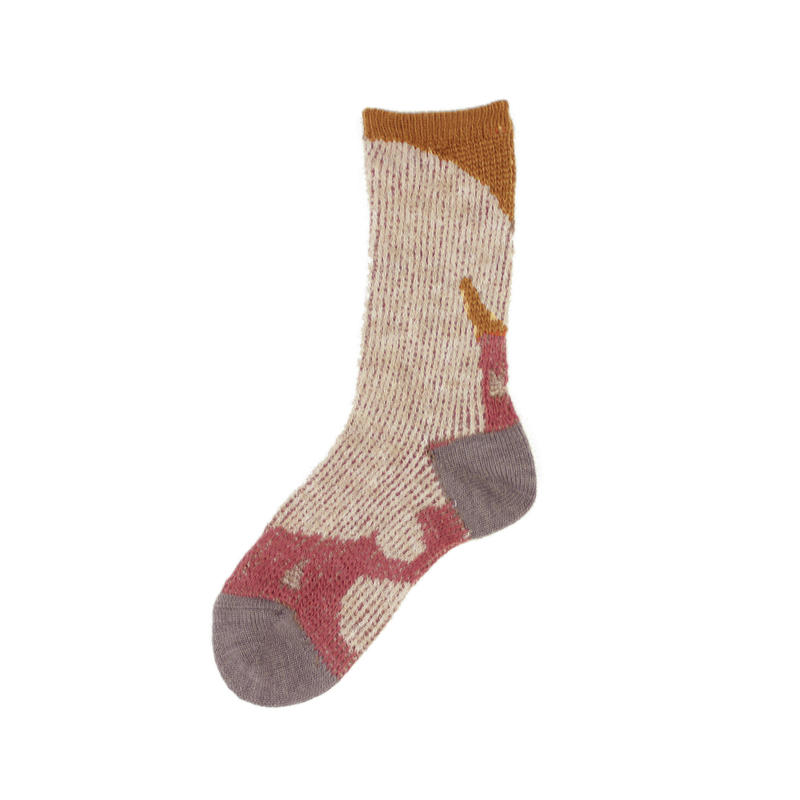rabbit relax socks/ベージュ