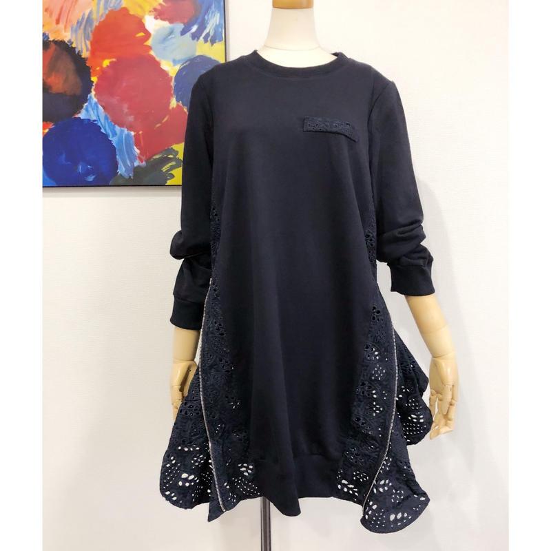 side cutwarklace dress
