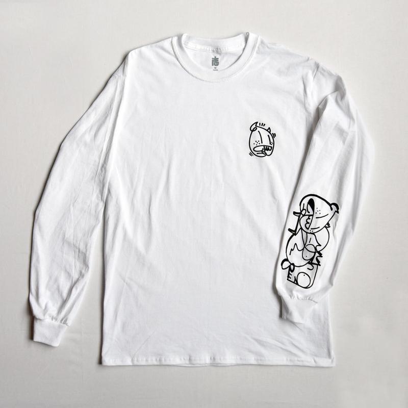 CASPER X TARIKI /  欲と我慢 L/S TEE
