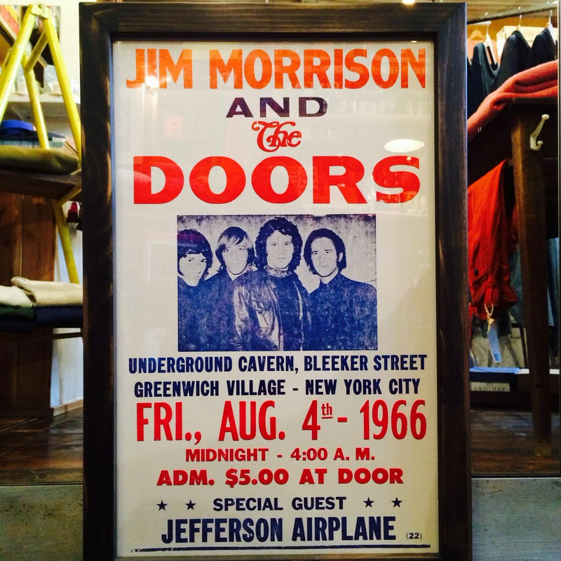 Live Poster (The DOORS) Vintage replica[アメリカ買付]