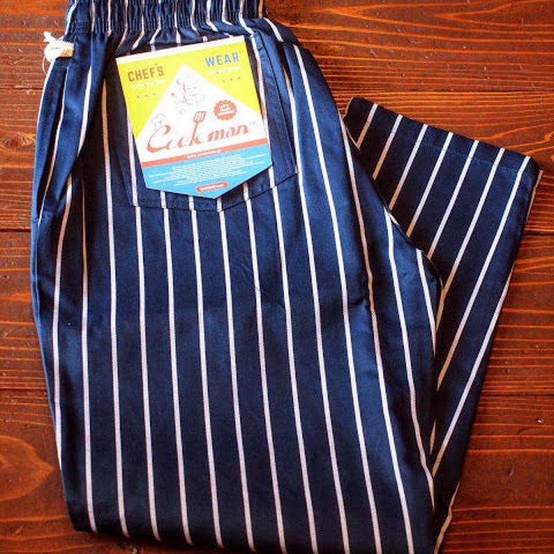 """COOKMAN""Chef Pants 「Pin Stripe」Navy"