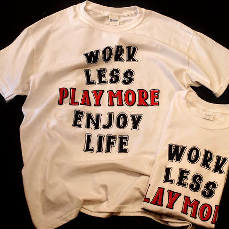 "再入荷!Original ""PLAY MORE""  Short  Sleeve T-shirts"