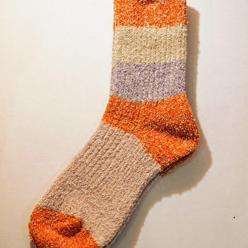 """MAUNA KEA SOCKS"" 5panel pile yarn socks"