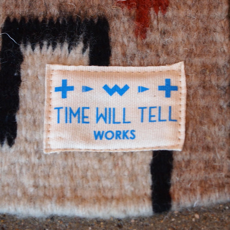"""""""TIME WILL TELL WORKS"""" Small Rug"""