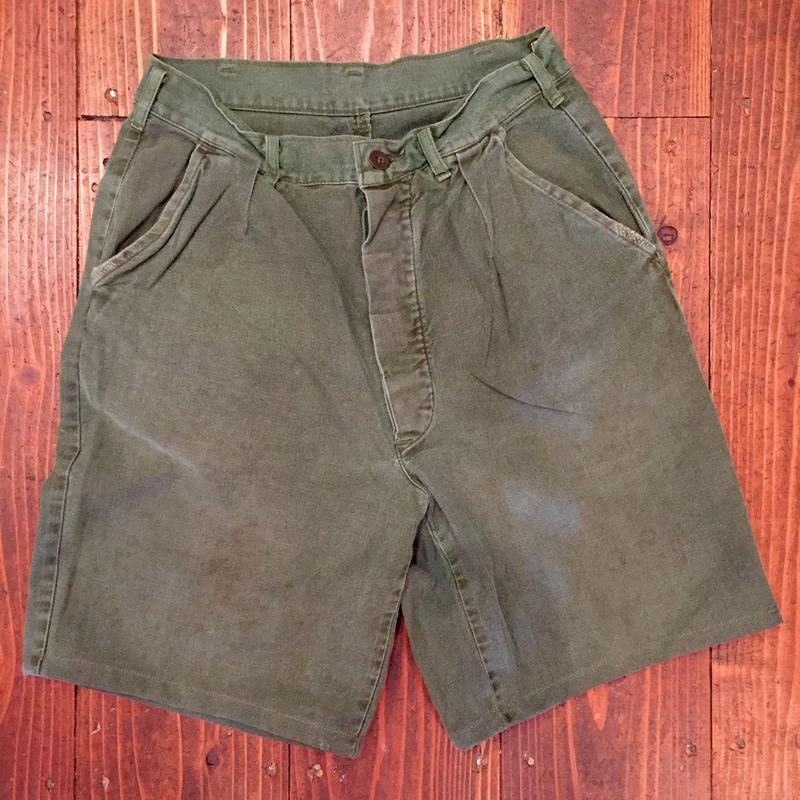 SWEDEN MILITARY Utility Short Pants(USED)