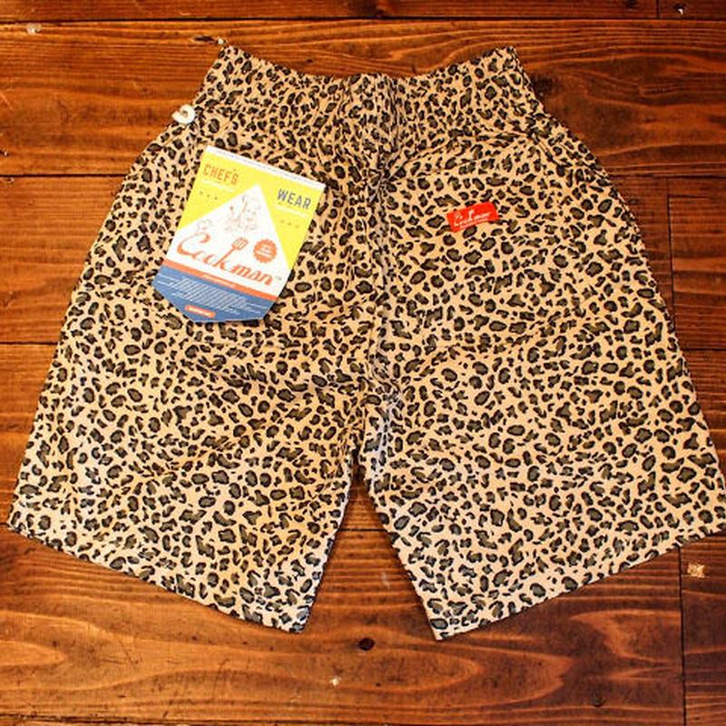 """5月再入荷予定""""COOKMAN"""" Chef Short Pants[Leopard]"""