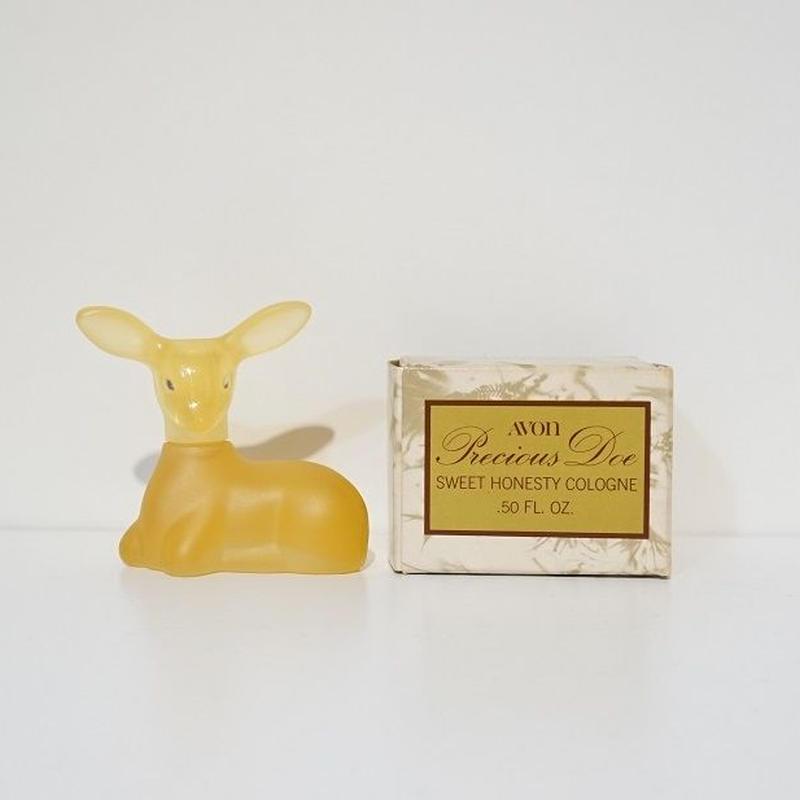 AVON 香水瓶 小鹿