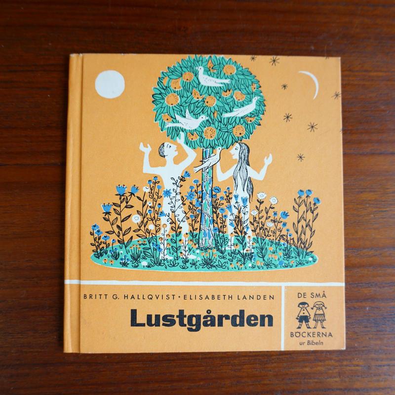 スウェーデン 絵本 Lustgarden book-007