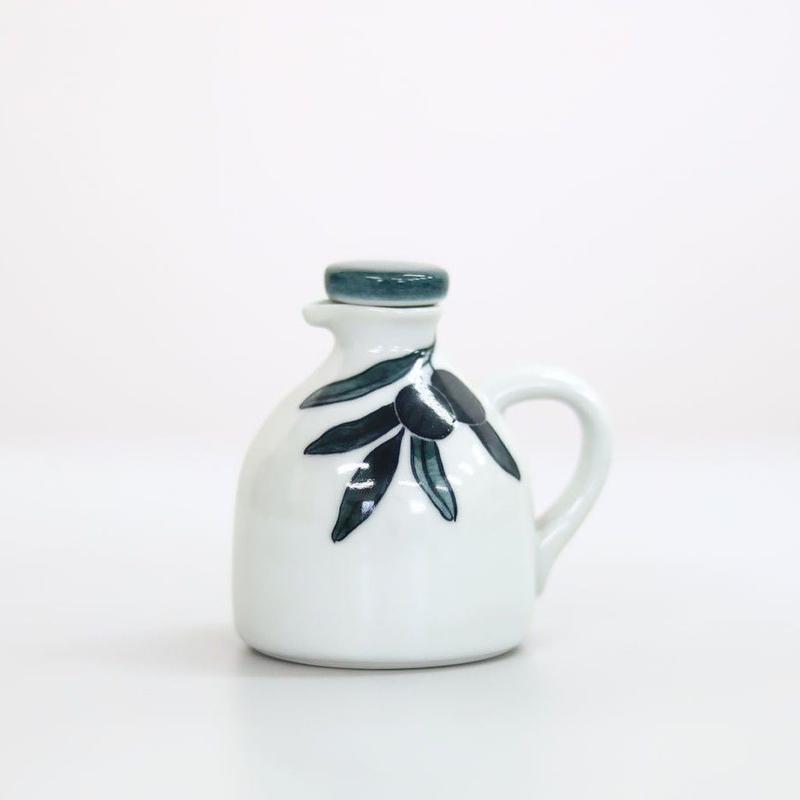 オリーブオイル挿し(砥部焼 泰山窯)