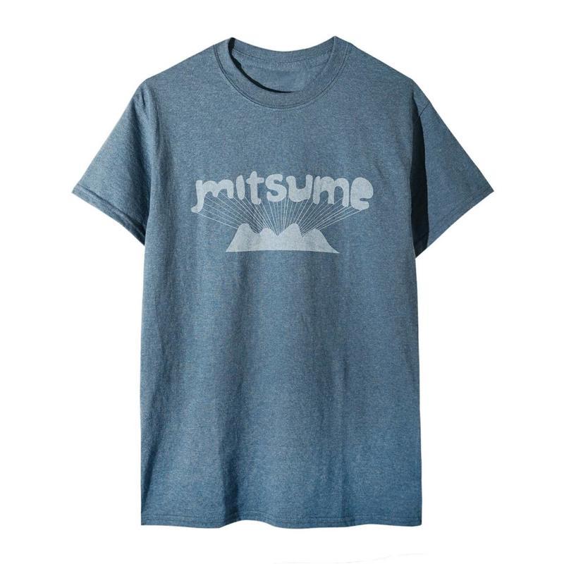 ミツメ山Tシャツ(インディゴブルー)