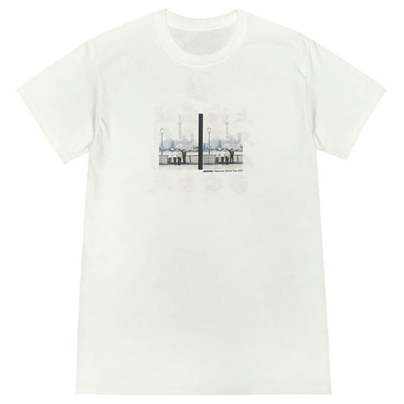 中国ツアーフォトTシャツ[WHITE]
