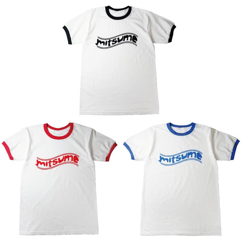 フロッキートリムTシャツ 全3色
