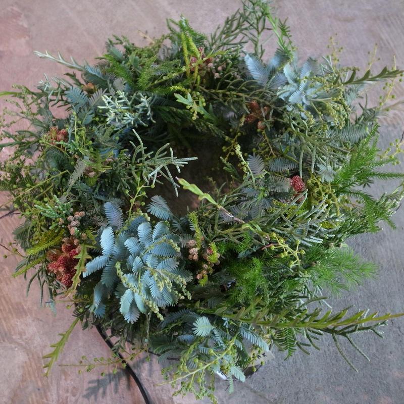 フレッシュ フライングリース ドライフラワー 送料込み wreath  dryflower