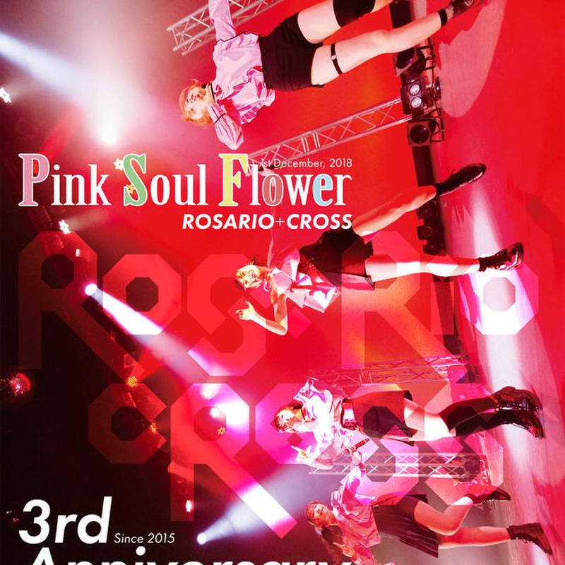 【ROSARIO+CROSS】3周年ホールワンマン「Pink Soul Flower」