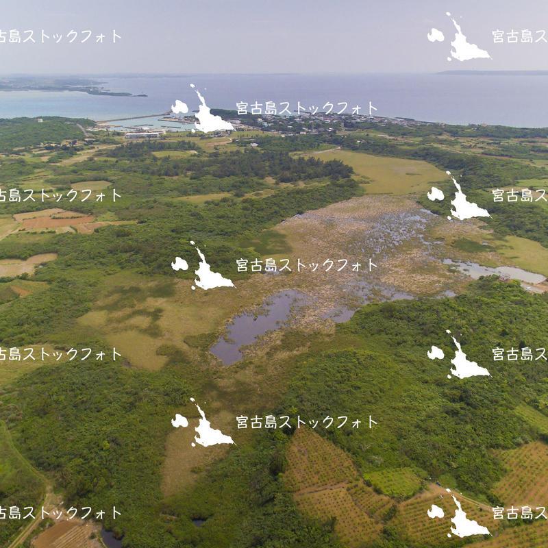 宮古島空撮 池間湿原