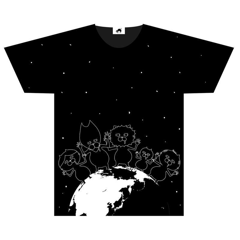 ③ [数量限定] 地球侵略デカTシャツ(単体)