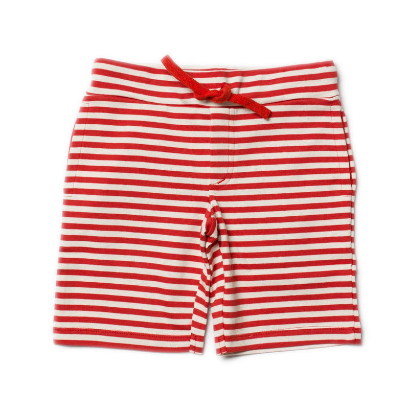Little Green Radicals Red Stripe Beach Shorts 98cm/ 104cm/ 110cm/ 116cm/ 122cm