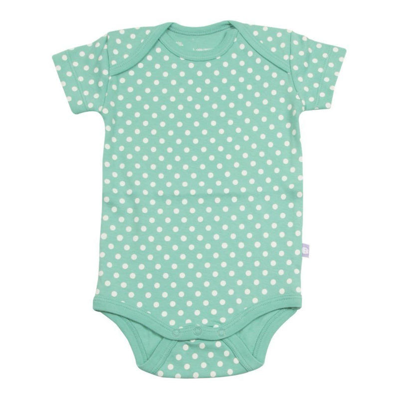 HUGABUG Organic Cotton Polka Dot Body Turquoise 70/ 80cm