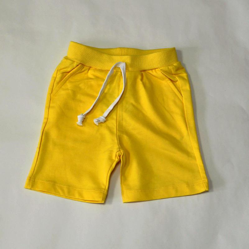 スウェットショートパンツ Yellow 100cm/ 120cm/ 130cm