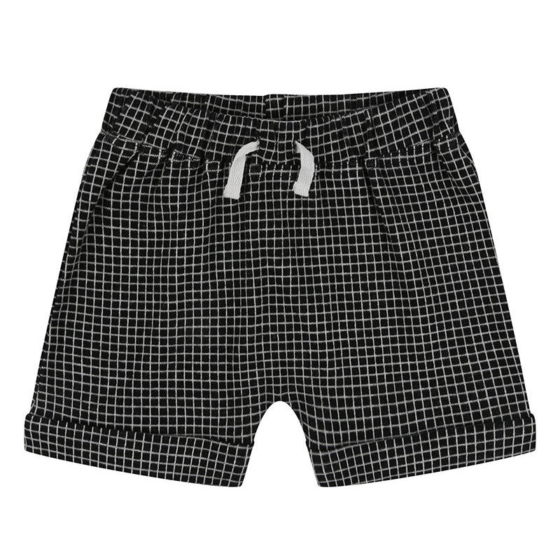 Turtledove London GRID JERSEY SHORTS 98cm/ 104cm/ 110cm/ 116cm