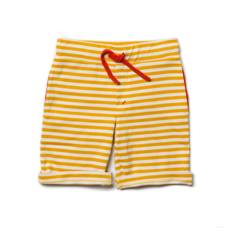 Little Green Radicals Gold Stripe Beach Shorts 98cm/ 104cm/ 110cm/ 116cm/ 122cm/ 128cm