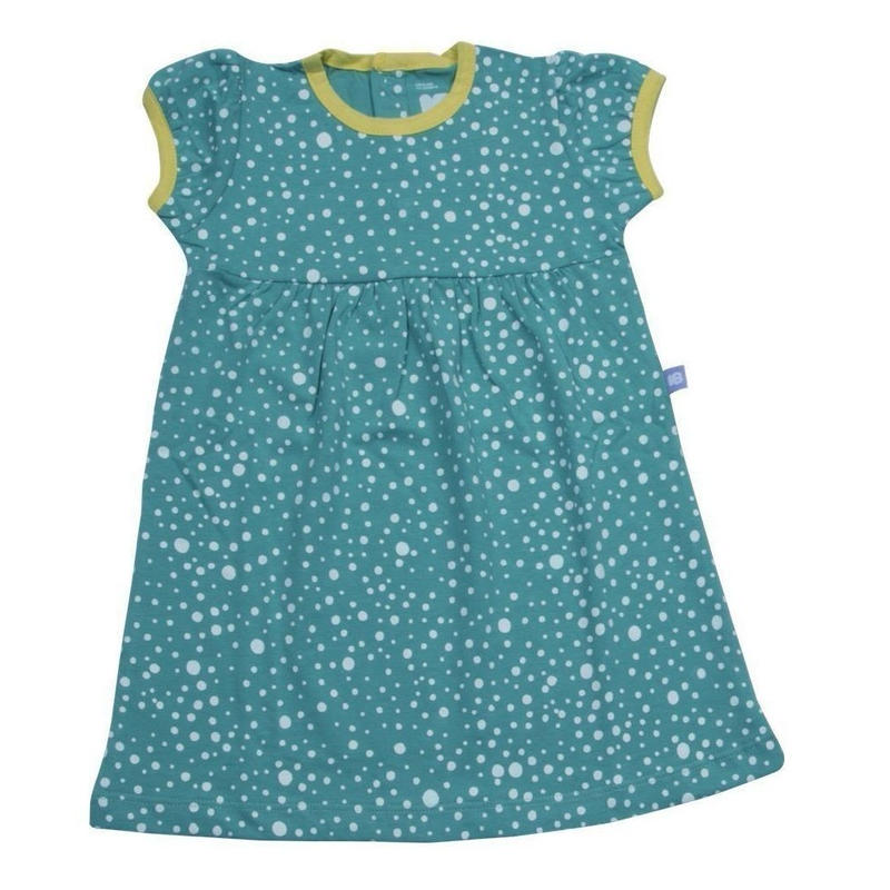 HUGABUG Polka Dot Dress Blue 80/ 92cm