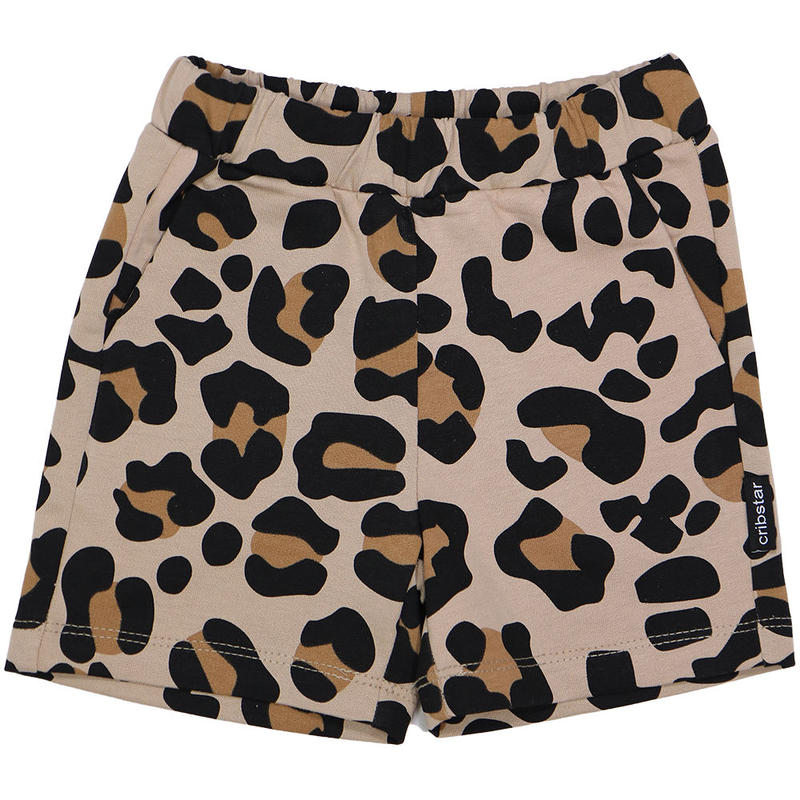 Cribstar Leopard Short Pants Beige 80/ 92/ 98/ 104/ 110/ 116/ 122cm