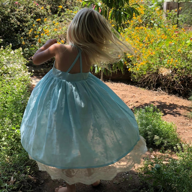 Vignette Reversible Marine Dress 110cm/ 116cm