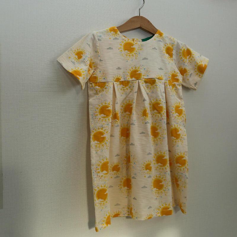 Little Green Radicals Golden Suns Summer Days Dress 98cm/ 104cm/ 110cm