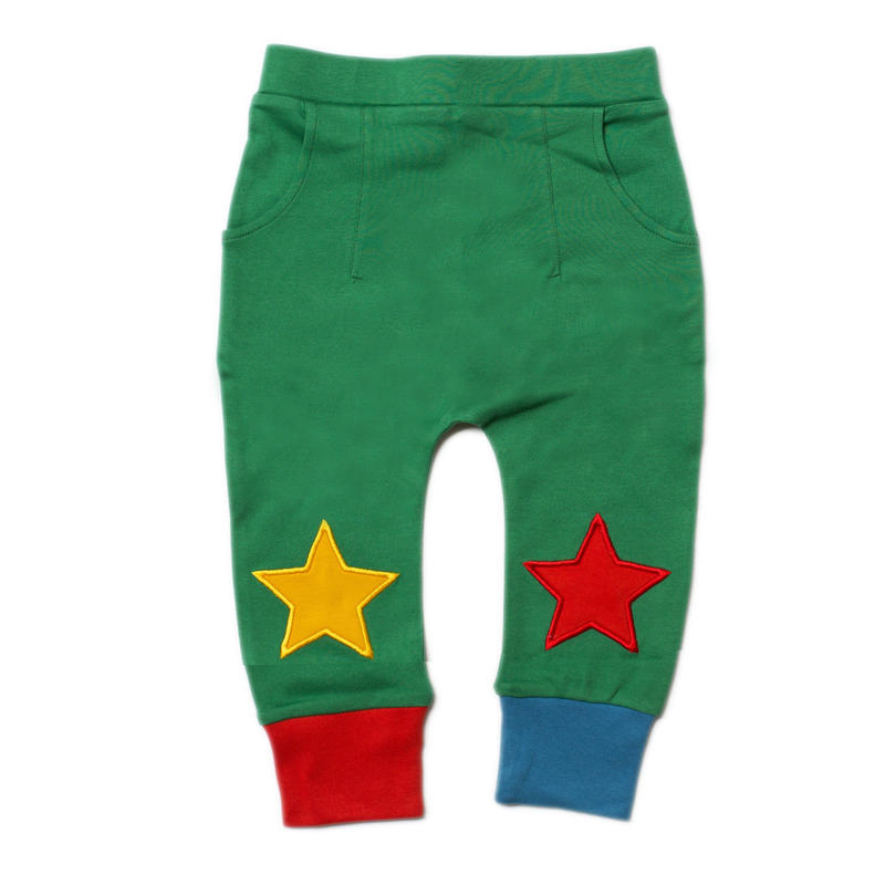 Little Green Radicals Jungle Green Star Joggers 92cm/ 98cm/ 104cm/ 110cm/ 116cm