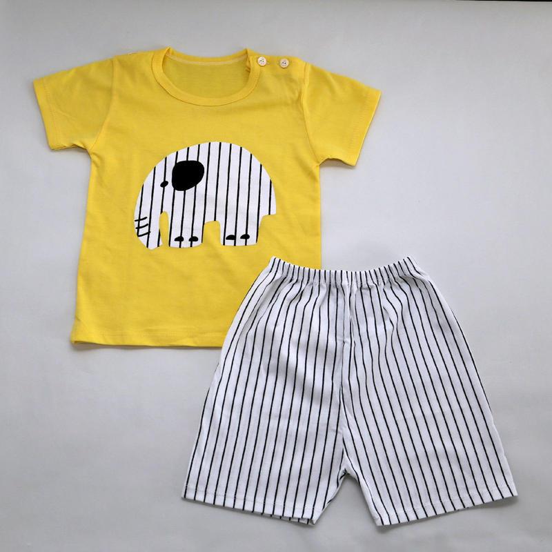 ゾウさんパジャマ Yellow 100cm/ 110cm