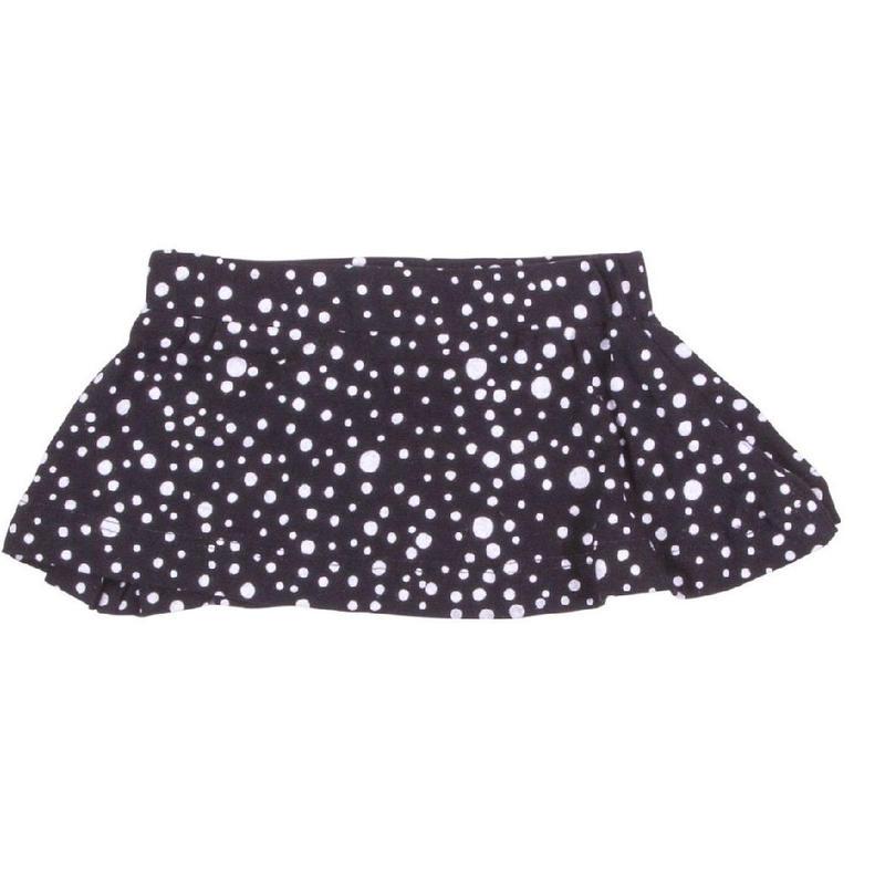 HUGABUG Polka Dot Skirt Black 86/ 92cm
