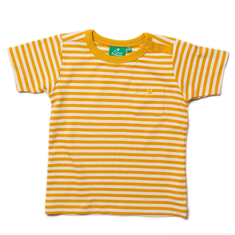 Little Green Radicals Gold Stripe T 98cm/ 104cm/ 110cm/ 116cm/ 122cm/ 128cm